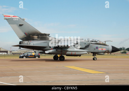 RAF Panavia Tornado GR4 of 41 Squadron (code ZA447) at the 2010 Royal International Air Tattoo, RAF Fairford, Gloucestershire, - Stock Photo