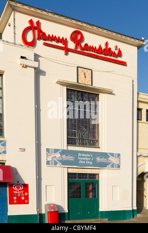 Harry Ramsden's fish and chip restaurant in Bournemouth - Stock Photo
