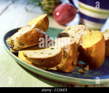 Eastern cake with nuts - Stock Photo