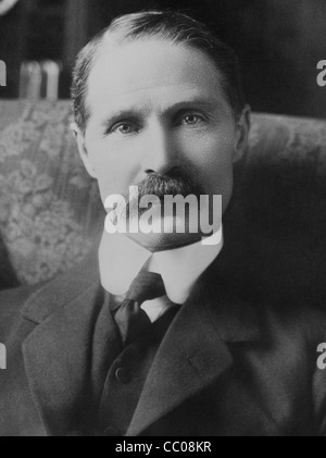 Vintage portrait photo circa 1910s of British politician Andrew Bonar Law (1858 - 1923) - Conservative Prime Minister - Stock Photo