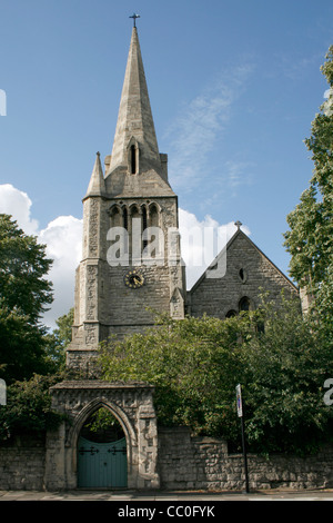 St. Mark's Church at Regents Park in London near the London Zoo (For editorial use) - Stock Photo