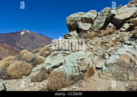 Los azulejos hydrothermal alteration near the roques de garcia stock photo royalty free image - Azulejos tenerife ...