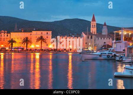 Old town of Trogir, Dalmatia, Croatia, Europe - Stock Photo