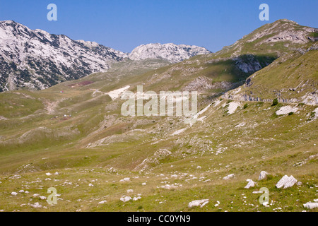 Durmitor National Park in north part of Montenegro. - Stock Photo