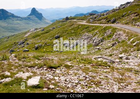 Durmitor National Park in north part of Montenegro, Balkans. - Stock Photo
