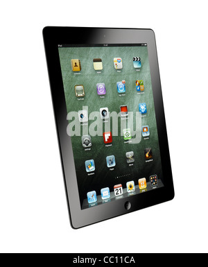 A cut out shot of an iPad - Stock Photo