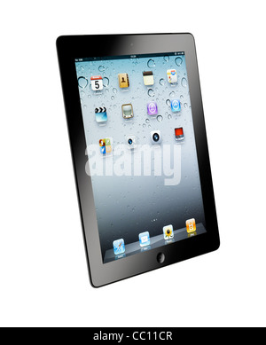 A cut out shot of an iPad2 - Stock Photo
