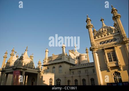 Brighton Pavilion, Brighton, East Sussex, UK - Stock Photo