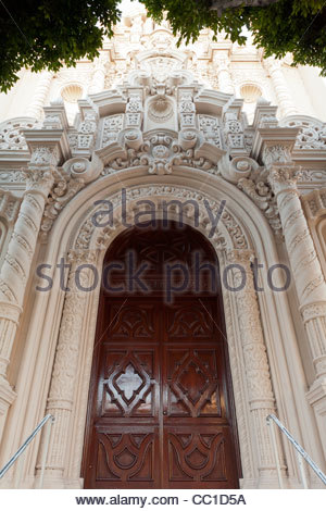 Mission San Francisco de Asis or Mission Delores, Mission District, San Francisco, California, United States - Stock Photo