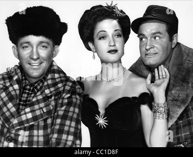 BING CROSBY DOROTHY LAMOUR & BOB HOPE ROAD TO UTOPIA (1946) - Stock Photo