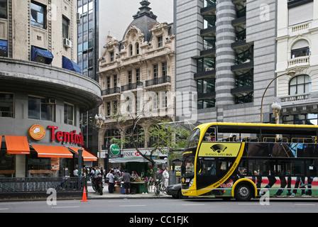 Public transport in Buenos Aires, Argentina - Stock Photo