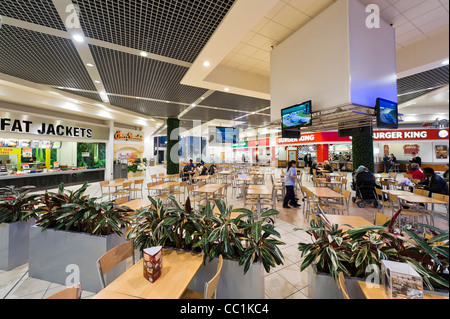 Food Court at the Lowry Outlet Mall shopping centre, Salford Quays, Manchester, UK - Stock Photo