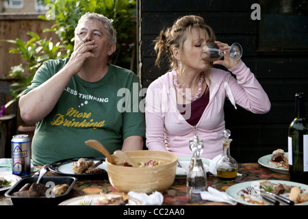 PETER WIGHT & LESLEY MANVILLE ANOTHER YEAR (2010) - Stock Photo