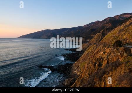 Big Sur, Central Coast  near Monterey, California, - Stock Photo