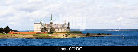 helsingor, denmark: kronborg castle - Stock Photo
