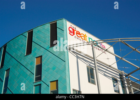 The Great North Children's Hospital in Newcastle upon Tyne, England, UK - Stock Photo