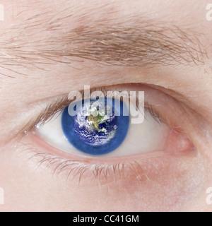 Global outlook - Stock Photo