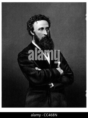 Edward George Earle Lytton Bulwer-Lytton 1st Baron 1803 1873 English politician poet playwright novelist bard crossed - Stock Photo