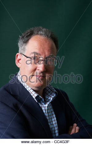 Gideon Rachman at The Edinburgh International Book Festival 2011 - Stock Photo