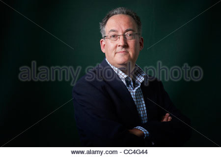 Gideon Rachman at The Edinburgh International Book Festival 2011 - Stock Photo