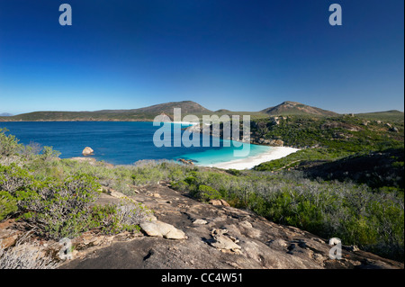 View of Little Hellfire Bay, Cape Le Grand National Park, Western Australia, Australia - Stock Photo