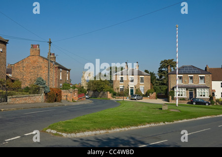 Aldborough village near Boroughbridge North Yorkshire England UK United Kingdom GB Great Britain - Stock Photo