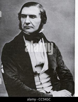 WILLIAM EWART GLADSTONE (1809-1898) English statesman - Stock Photo