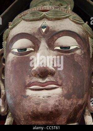 Head of Avalokitesvara, Dabei Hall, Longxing Monastery, Zhengding, Shijiazhuang, Hebei , China