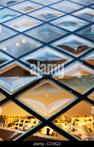 Japan, Tokyo, Aoyama, Prada Store, Architect Herzog & De Meuron - Stock Photo