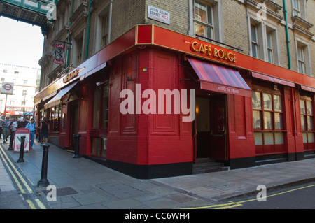 London Greenwich Cafe Rouge