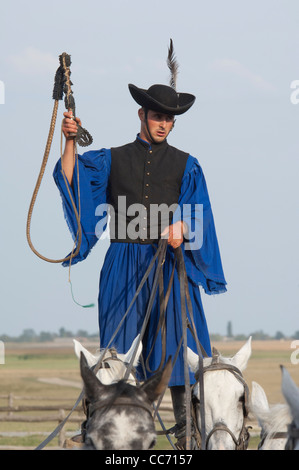Hungary Kalocsa Traditional Hungarian Cowboy Show At