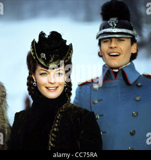 ROMY SCHNEIDER, HELMUT BERGER, LUDWIG, 1972 - Stock Photo