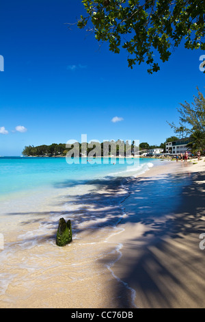 St James, West coast, Barbados, Caribbean, West Indies - Stock Photo