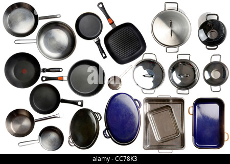 Compilation of various kitchen utensils, kitchen tools. - Stock Photo