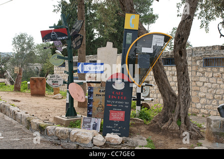 Israel, Carmel, Ein Hod Artist's village, - Stock Photo
