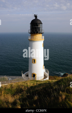 Maughold Head Lighthouse, The Isle of Man - Stock Photo