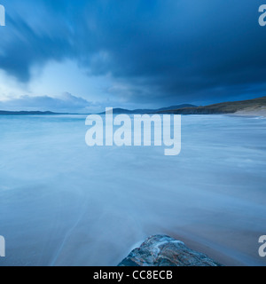 Traigh Lar beach, Isle of Harris, Outer Hebrides, Scotland - Stock Photo