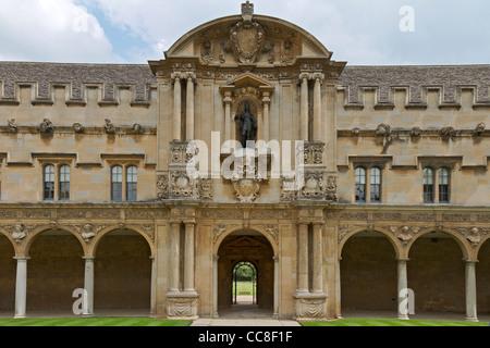 UK Oxford St. John's College Part Of Front Quadrangle