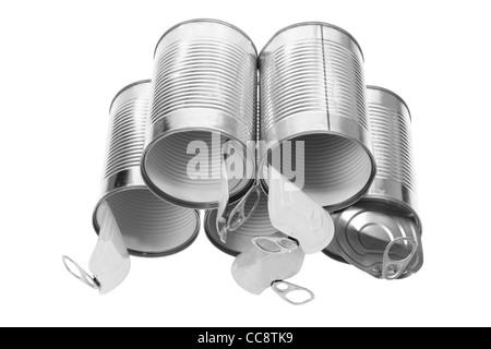 Tin Cans - Stock Photo