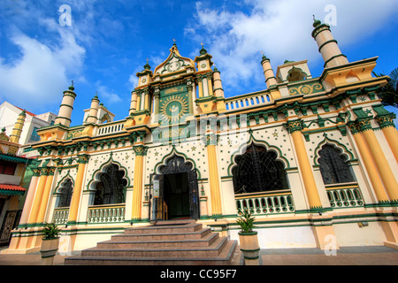 Masjid Abdul Gafoor (Mosque) | Little India | Singapore - Stock Photo