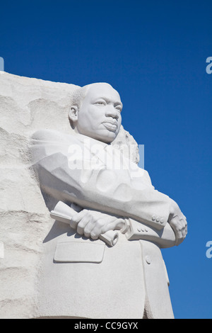Martin Luther King Junior Memorial at the National Mall and memorial parks in Washington DC - Stock Photo