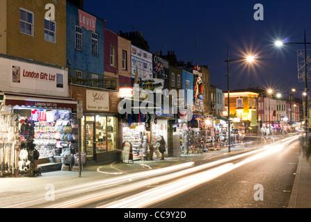 Camden Town High Street - London - Stock Photo