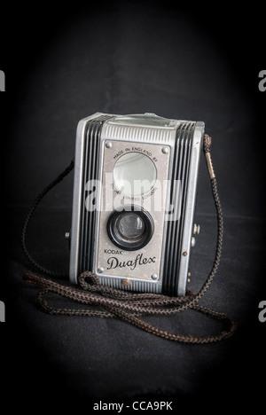 Kodak Duaflex camera. antique. - Stock Photo