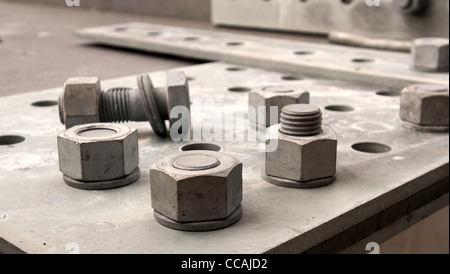 Bolts and screws - Stock Photo