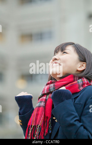 High school girl - Stock Photo