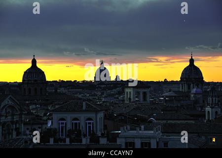 italia italy italie roma rome campidoglio terrazza caffarelli - Stock Photo