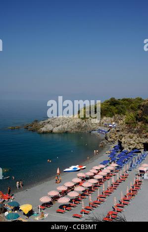 italy, basilicata, maratea, beach - Stock Photo