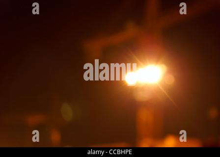 Abstract, blur defocus lights. - Stock Photo