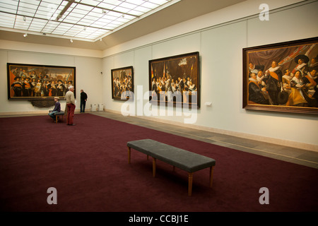 Frans Hals museum in Haarlem. The Netherlands. - Stock Photo