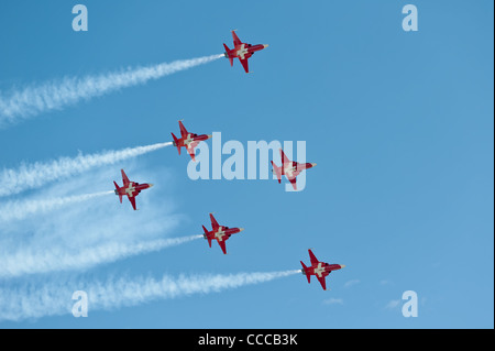 Patrouille Suisse - Stock Photo